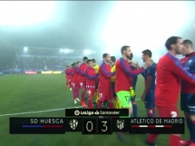 SD Huesca 0:3 Atletico Madryt