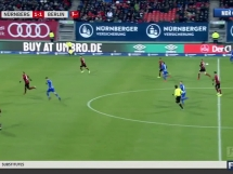 FC Nurnberg 1:3 Hertha Berlin