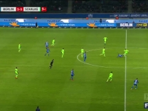 Hertha Berlin 2:2 Schalke 04