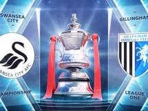 Swansea City 4:1 Gillingham FC