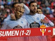 Sporting Gijon 1:2 Deportivo La Coruna