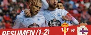 Sporting Gijon - Deportivo La Coruna