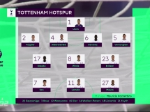 Tottenham Hotspur 1:0 Newcastle United