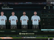 Celta Vigo 1:0 Sevilla FC