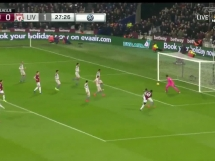 West Ham United 1:1 Liverpool
