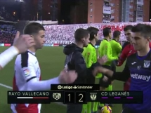 Rayo Vallecano 1:2 Leganes