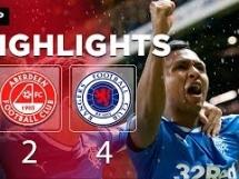 Aberdeen 2:4 Rangers