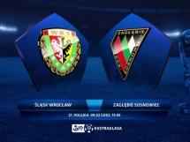 Śląsk Wrocław 2:0 Zagłębie Sosnowiec
