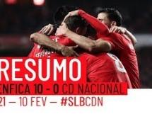 Benfica Lizbona 10:0 Nacional Madeira