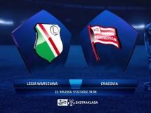 Legia Warszawa 0:2 Cracovia Kraków