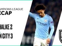 Schalke 04 2:3 Manchester City