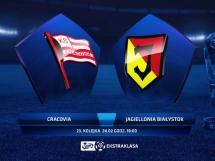 Cracovia Kraków 1:0 Jagiellonia Białystok