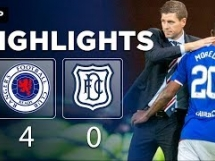 Rangers 4:0 Dundee FC