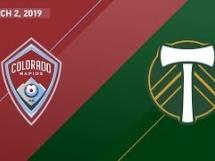 Colorado Rapids 3:3 Portland Timbers