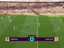 Arsenal Londyn 2:0 Manchester United