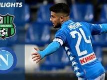 Sassuolo 1:1 Napoli