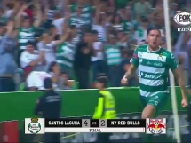 Santos Laguna 4:2 New York Red Bulls