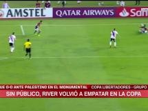 River Plate 0:0 Palestino