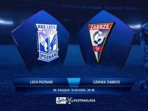 Lech Poznań 0:3 Górnik Zabrze
