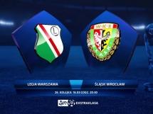 Legia Warszawa 1:0 Śląsk Wrocław