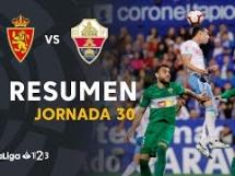 Real Saragossa 1:0 Elche