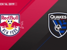 New York Red Bulls 4:1 San Jose Earthquakes