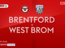 Brentford 0:1 West Bromwich Albion