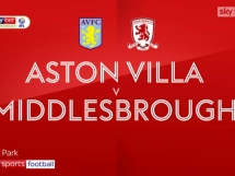 Aston Villa 3:0 Middlesbrough