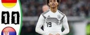 Niemcy 1:1 Serbia