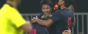 Chiny 0:1 Tajlandia