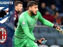Sampdoria 1:0 AC Milan