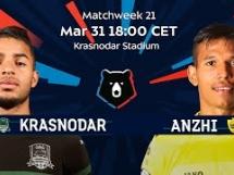 FK Krasnodar 5:0 Andżi Machaczkała