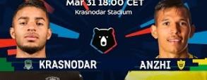 FK Krasnodar - Andżi Machaczkała