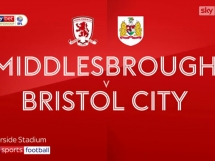 Middlesbrough 0:1 Bristol City
