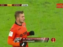 Urał Jekaterynburg 1:0 Arsenal Tula