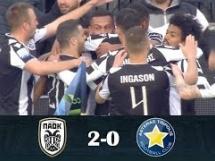 PAOK Saloniki 2:0 Asteras Tripolis
