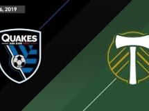 San Jose 3:0 Portland Timbers