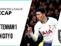 Tottenham Hotspur 1:0 Manchester City