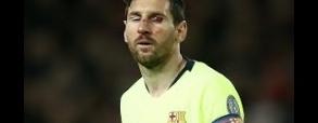 Messi cały od krwi po starciu z Smalligiem!