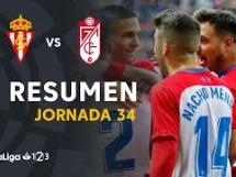 Sporting Gijon 1:0 Granada CF