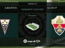 Albacete Balompie 1:1 Elche