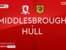 Middlesbrough 1:0 Hull City