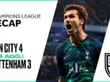 Manchester City 4:3 Tottenham Hotspur