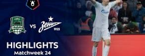 FK Krasnodar 2:3 Zenit St. Petersburg