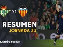 Betis Sewilla 1:2 Valencia CF