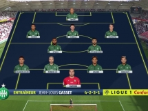 Reims 0:2 Saint Etienne