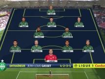 Reims 0:2 Saint Etienne