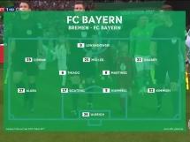 Werder Brema 2:3 Bayern Monachium