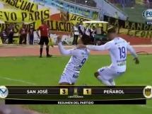 San Jose 3:1 CA Penarol