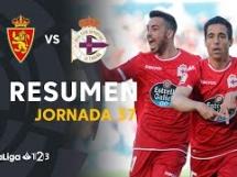 Real Saragossa 0:1 Deportivo La Coruna